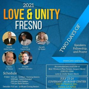 Love and Unity Fresno Flyer